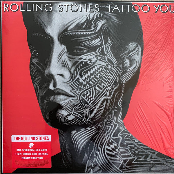 "The Rolling Stones Tattoo You Half Speed Mastered 180 gram vinyl 2020 reissue Abbey Road remaster 1x 12"" LP vinyl"
