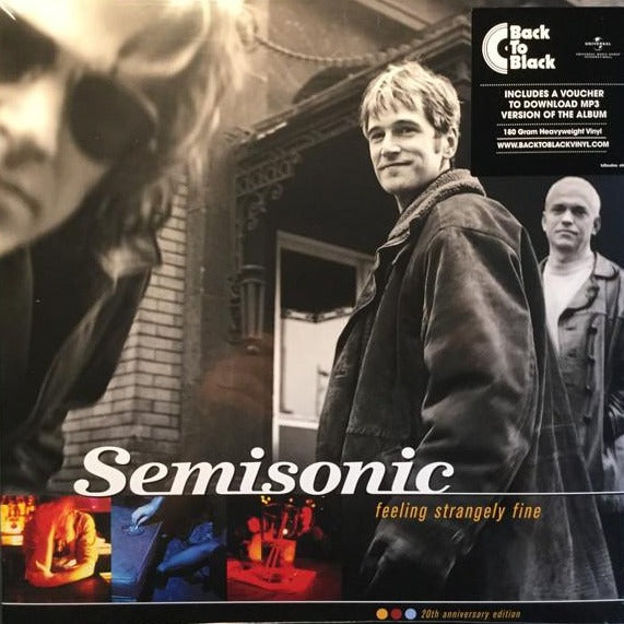 "Semisonic Feeling Strangely Fine 20th Anniversary Edition Vinyl 2x 12"" LP"