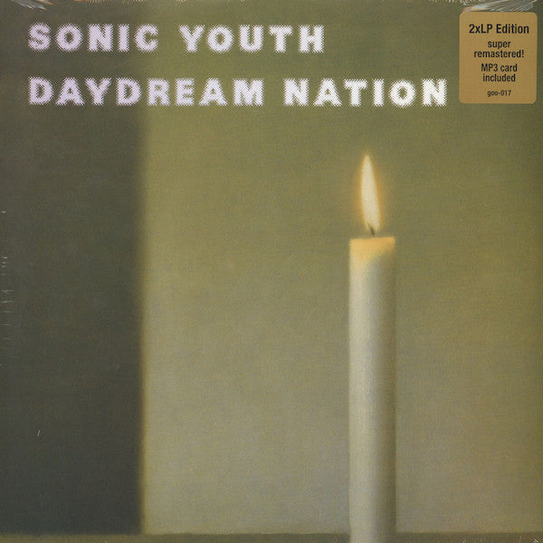 Sonic Youth Daydream Nation 2LP Vinyl Remastered 2014 reissue