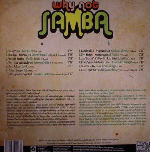 Various Artists: Why Not Samba
