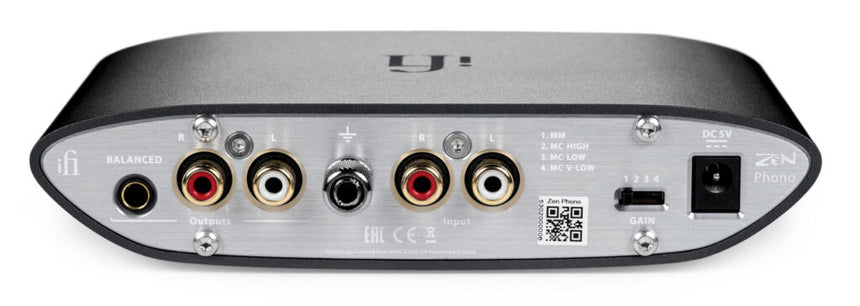iFi Zen Phono MM MC phono preamplifier preamplificador etape de phono front