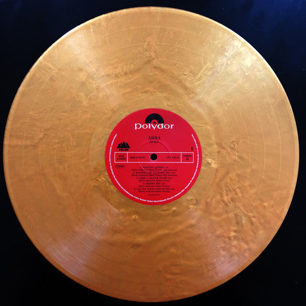 Abba Gold Limited Edition Gold vinyl