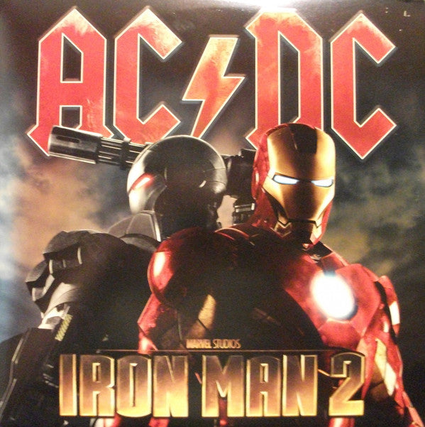 AC/DC Iron Man 2 Soundtrack LP Hard Rock Disco Vinilo Vinyl Blue Sky Música