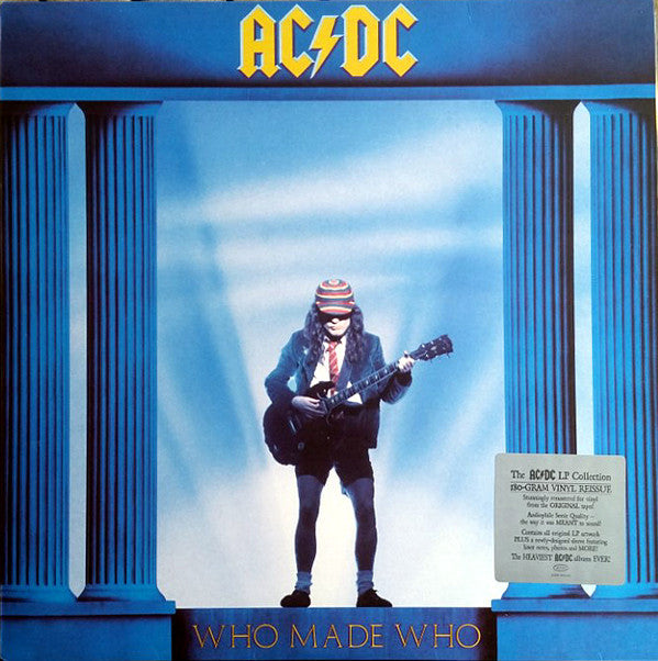 AC/DC Who Made Who LP Hard Rock Disco Vinilo Vinyl Blue Sky Música