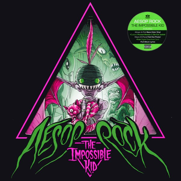 Aesop Rock The Impossible Kid 2LP Vinyl Hip Hop Vinilo Blue Sky Música Limited Edition