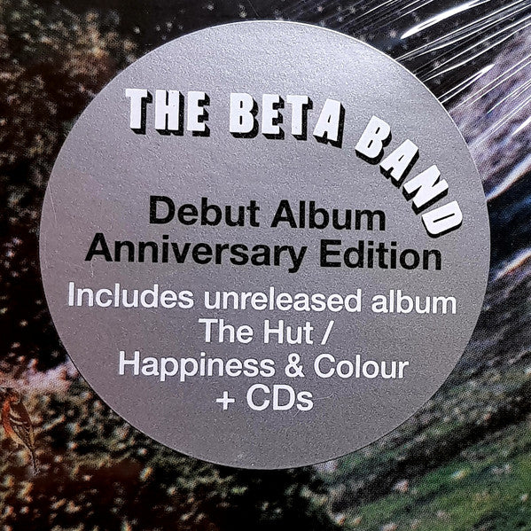 "Beta Band debut album Anniversary Edition 2x 12"" LP + 1x 12"" LP + 2CD"