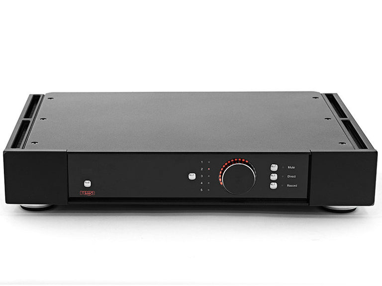 Rega Research Elicit-R integrated amplifier 105w amplificador integrado front view