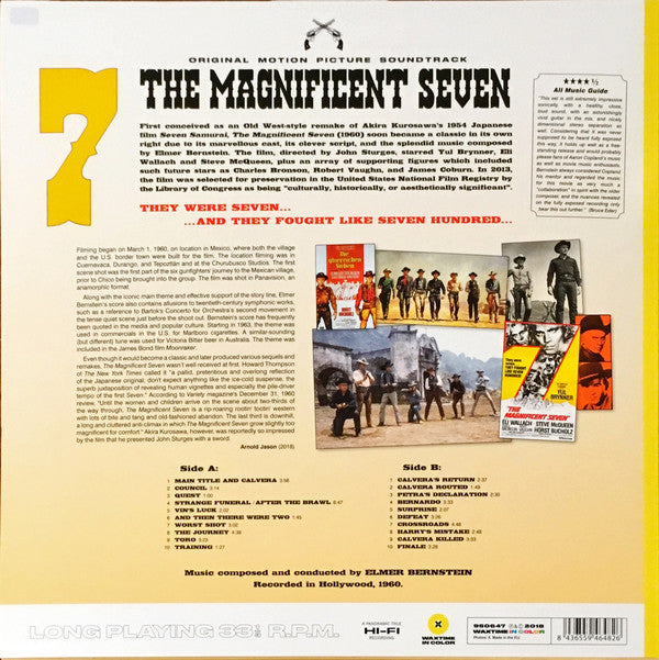 Elmer Bernstein - The Magnificent Seven O.S.T.