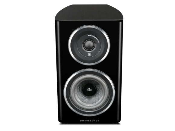 Wharfedale Diamond 11.1 bookshelf speaker black finish altavoces de support acabado negro