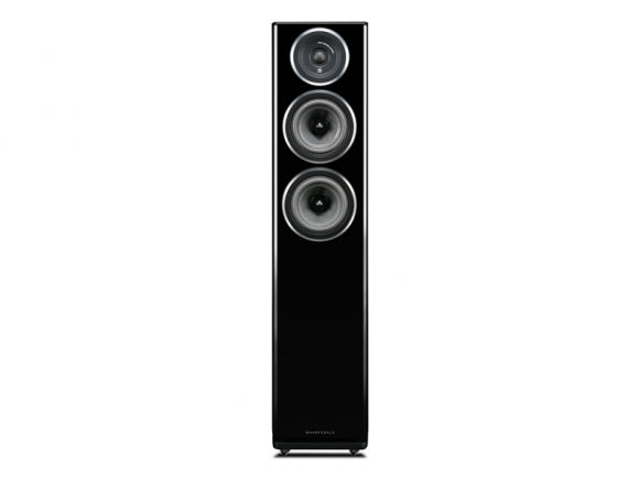 Wharfedale Diamond 11.3 altavoces de suelo acabado negro floorstanding loudspeakers black finish