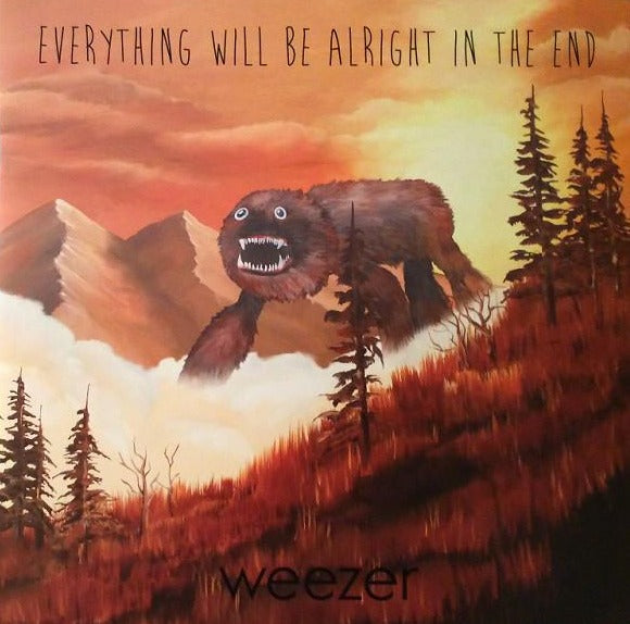 "weezer everything will be alright in the end vinyl 2x 12"" lp"