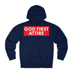 Block Name (Hoodie | Multiple Colors) - GOD FIRST ATTIRE