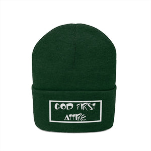Cartoon Name (Beanie | Multiple Colors) - GOD FIRST ATTIRE
