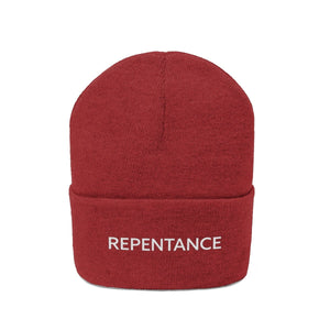 Repentance (Beanie | Multiple Colors) - GOD FIRST ATTIRE
