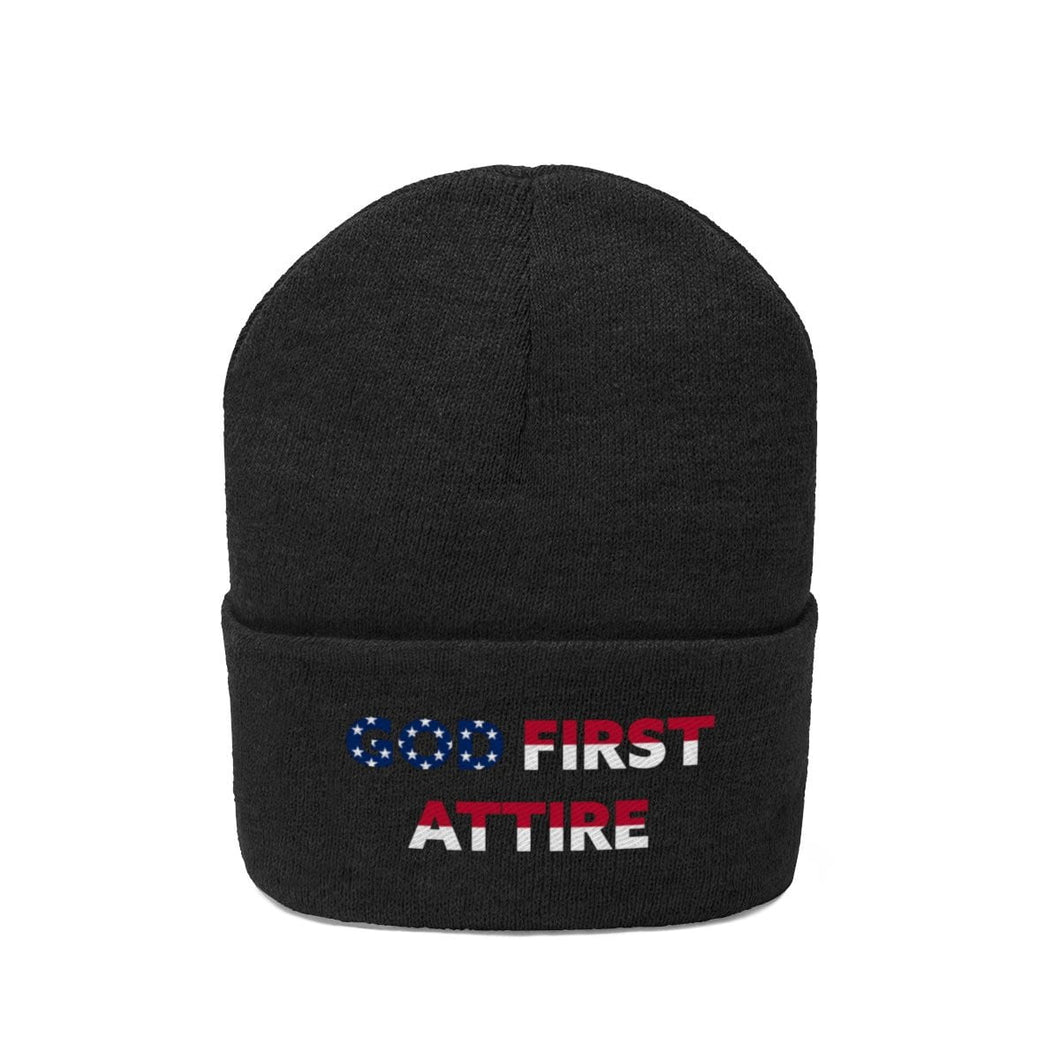 USA Name (Beanie | Multiple Colors) - GOD FIRST ATTIRE