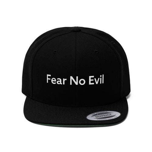 Fear No Evil (Snapback | Multiple Colors) - GOD FIRST ATTIRE