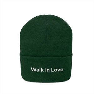 Walk In Love (Beanie | Multiple Colors) - GOD FIRST ATTIRE