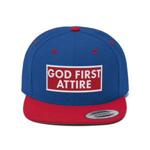 Block Name (Snapback | Multiple Colors) - GOD FIRST ATTIRE