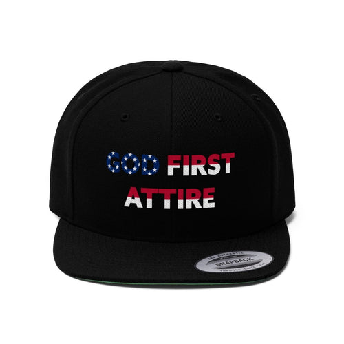 USA Name (Snapback | Multiple Colors) - GOD FIRST ATTIRE