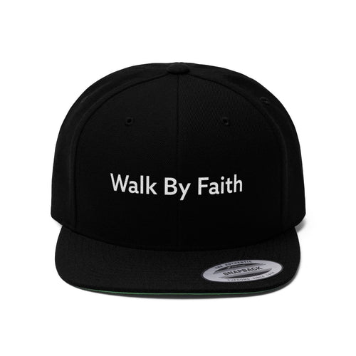 Walk By Faith (Snapback | Multiple Colors) - GOD FIRST ATTIRE