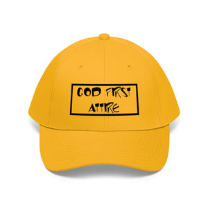 Cartoon Name (Cap | Multiple Colors) - GOD FIRST ATTIRE
