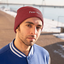 Load image into Gallery viewer, Fear No Evil (Beanie | Multiple Colors) - GOD FIRST ATTIRE