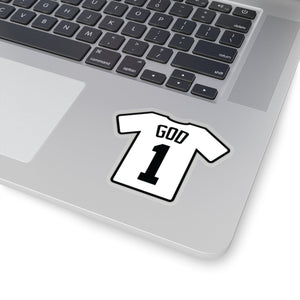 GOD 1 Jersey (Sticker) - GOD FIRST ATTIRE