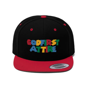 3D Color Name (Snapback | Multiple Colors) - GOD FIRST ATTIRE