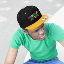 Load image into Gallery viewer, 3D Color Name (Snapback | Multiple Colors) - GOD FIRST ATTIRE