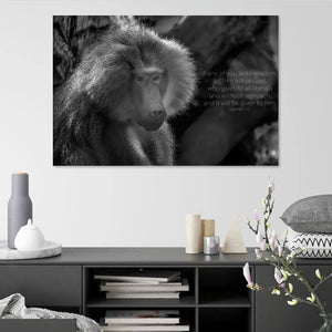 Let him ask of God - Canvas Print - GOD FIRST ATTIRE