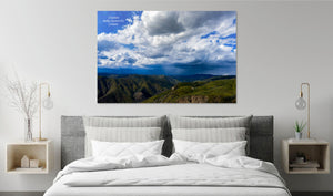 Creation Makes Known It's Creator - Metal Print - GOD FIRST ATTIRE