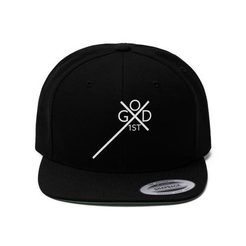 Logo (Snapback | Multiple Colors) - GOD FIRST ATTIRE