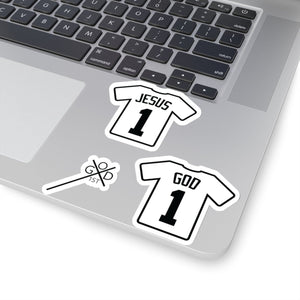 Jersey 3-Pack (Stickers) - GOD FIRST ATTIRE