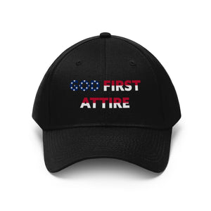USA Name (Cap | Multiple Colors) - GOD FIRST ATTIRE