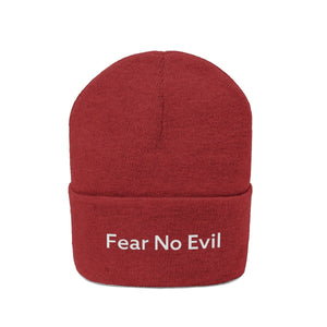 Fear No Evil (Beanie | Multiple Colors) - GOD FIRST ATTIRE