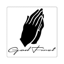 Load image into Gallery viewer, Prayer (Sticker) - GOD FIRST ATTIRE
