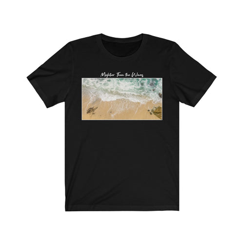 Mightier Than The Waves Tee (Multiple Colors) - GOD FIRST ATTIRE
