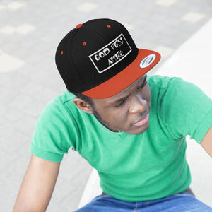 Cartoon Name (Snapback | Multiple Colors) - GOD FIRST ATTIRE