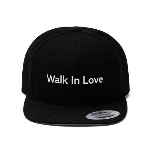 Walk In Love (Snapback | Multiple Colors) - GOD FIRST ATTIRE