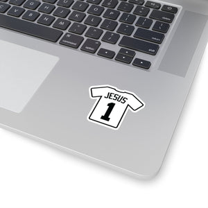 Jesus 1 Jersey (Sticker) - GOD FIRST ATTIRE