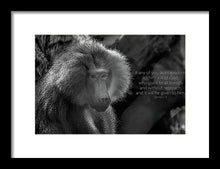 Load image into Gallery viewer, Let him ask of God - Framed Print - GOD FIRST ATTIRE