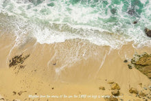 Load image into Gallery viewer, Mightier Than The Waves - Art Print - GOD FIRST ATTIRE