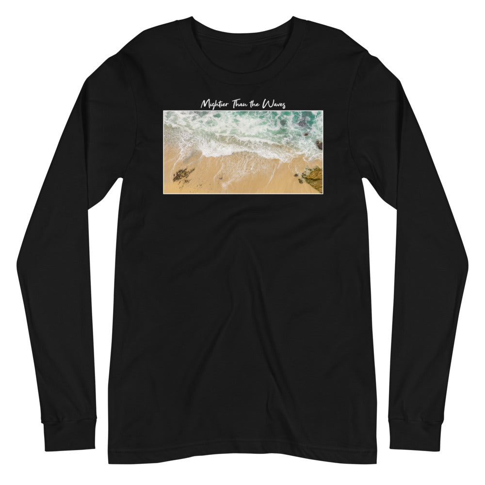 Mightier Than The Waves LS Tee