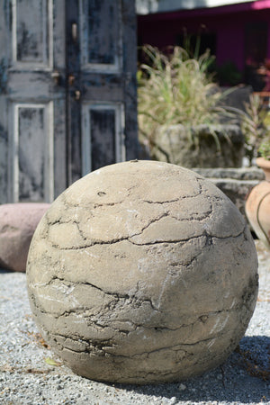Large Ancient Chinese Granite Sphere