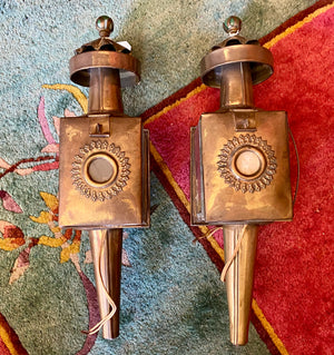 Interior Brass Sconces
