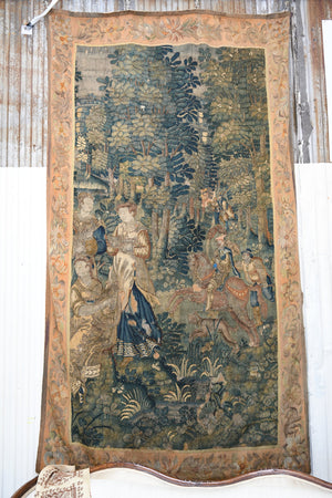 Antique European Wall Tapestry