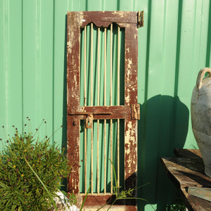 Pair of Brown Indian Teak Doors