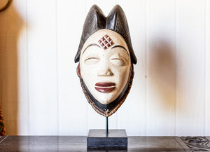 African Wedding Mask