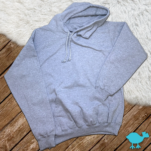 Heather Gray 50/50 Hoodie