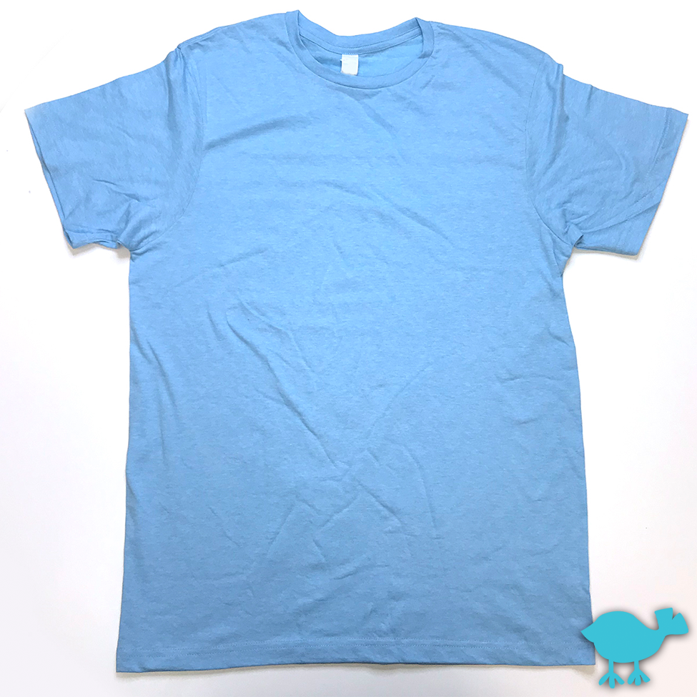 Sky Blue Heather Tee